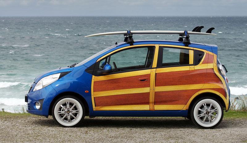 Chevrolet Spark Woody Wagon: koncept pro surfaře: - fotka 11