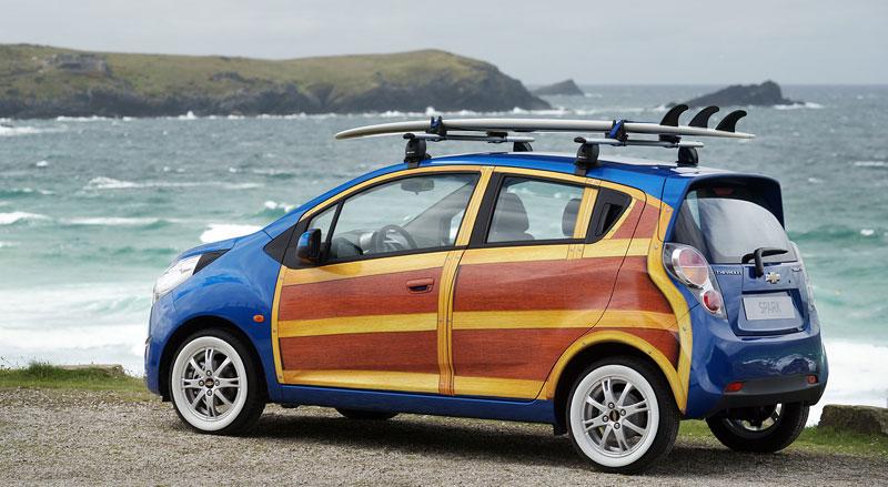 Chevrolet Spark Woody Wagon: koncept pro surfaře: - fotka 12