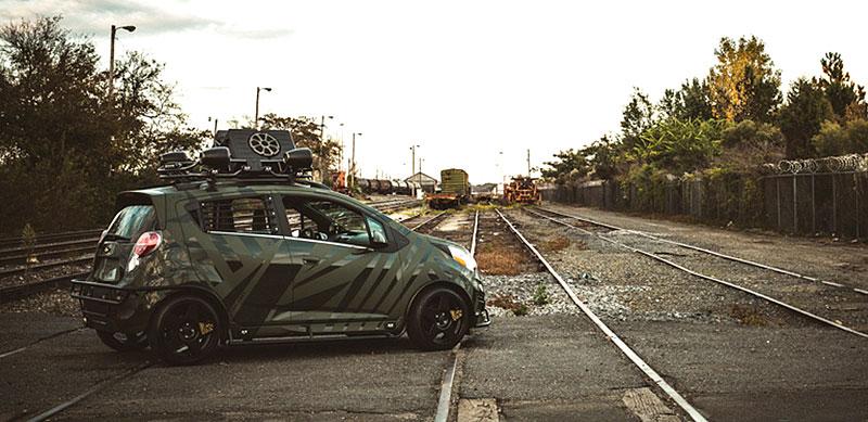 Enemy to Fashion Chevrolet Spark: vojenský speciál pro SEMA: - fotka 8