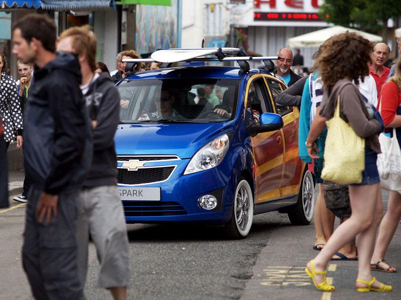 Chevrolet Spark Woody Wagon: koncept pro surfaře: - fotka 13