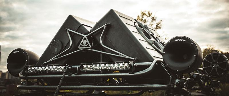 Enemy to Fashion Chevrolet Spark: vojenský speciál pro SEMA: - fotka 10
