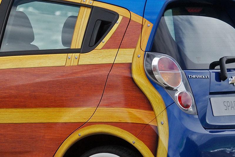 Chevrolet Spark Woody Wagon: koncept pro surfaře: - fotka 14