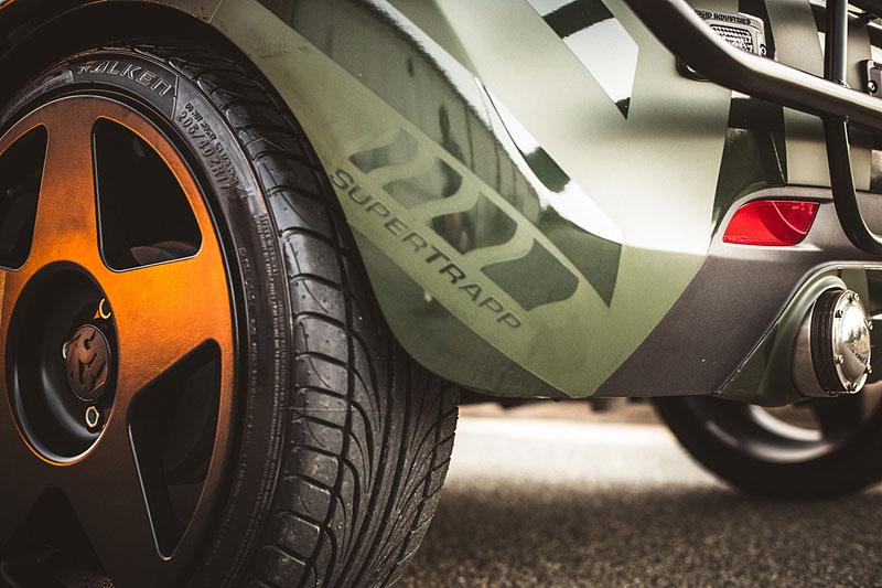 Enemy to Fashion Chevrolet Spark: vojenský speciál pro SEMA: - fotka 12