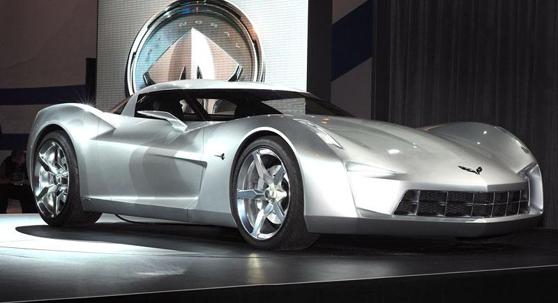Chevrolet Corvette 50th Anniversary Stingray Concept: filmová hvězda: - fotka 5