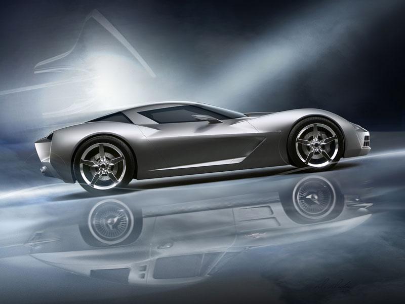 Chevrolet Corvette 50th Anniversary Stingray Concept: filmová hvězda: - fotka 8