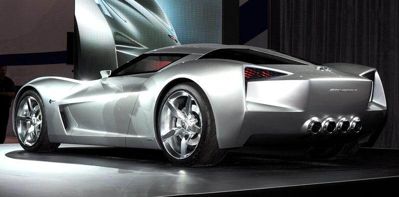 Chevrolet Corvette 50th Anniversary Stingray Concept: filmová hvězda: - fotka 9