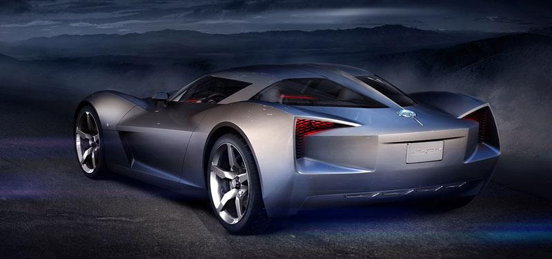 Chevrolet Corvette 50th Anniversary Stingray Concept: filmová hvězda: - fotka 12