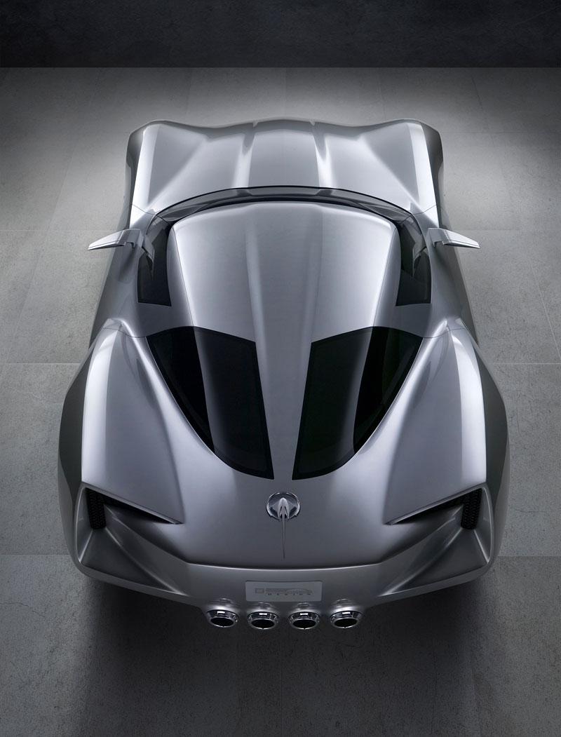Chevrolet Corvette 50th Anniversary Stingray Concept: filmová hvězda: - fotka 13