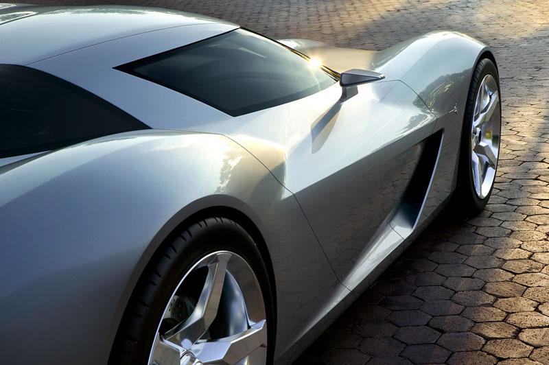 Chevrolet Corvette 50th Anniversary Stingray Concept: filmová hvězda: - fotka 14