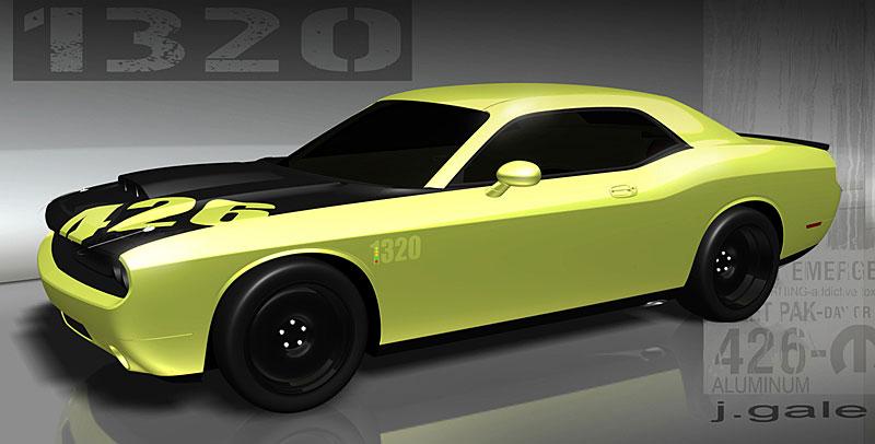 MOPAR představuje koncepty pro 2009 SEMA Show: - fotka 1