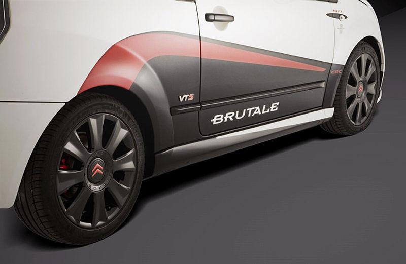 Citroën C2 1587 Brutale - postraší jen jméno: - fotka 16