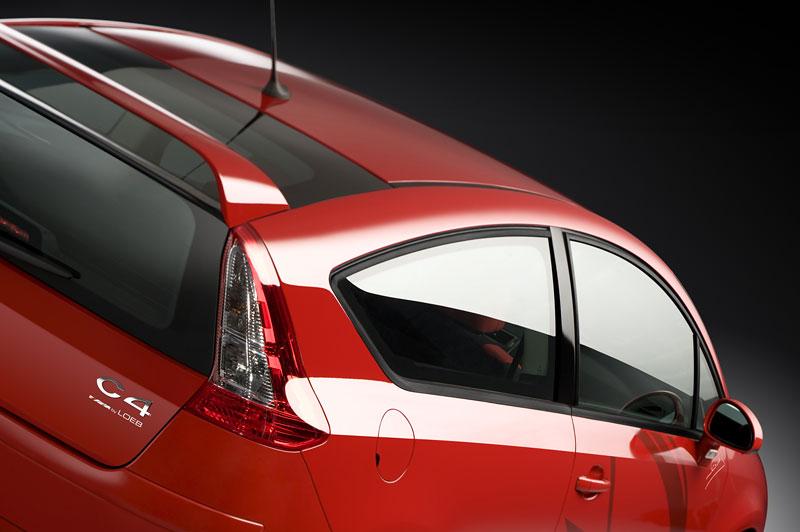 Citroën C4 Coupe by Loeb: důraz na vzhled: - fotka 7