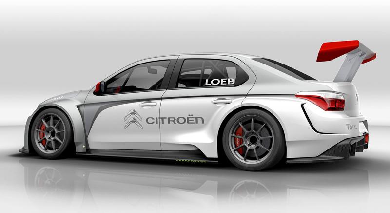 Sébastien Loeb se prohání v Citroënu C-Elysée WTCC: - fotka 5