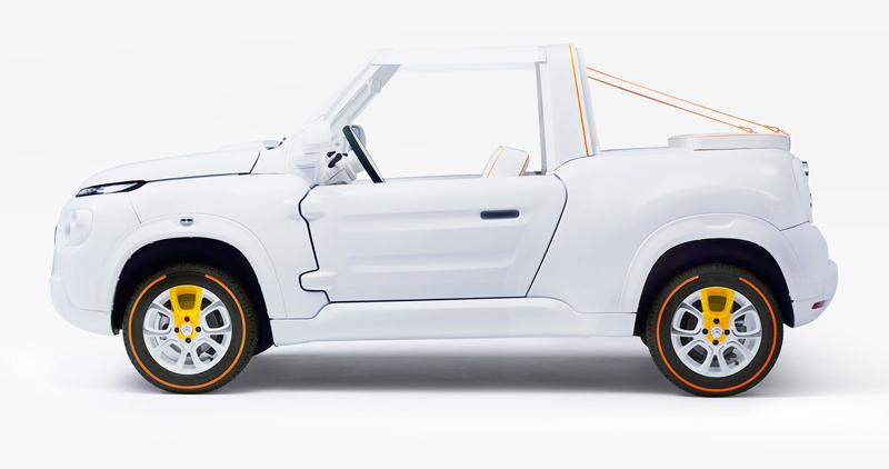 Citroën E-Mehari styled by Courreges: Plážový elegán (+video): - fotka 7