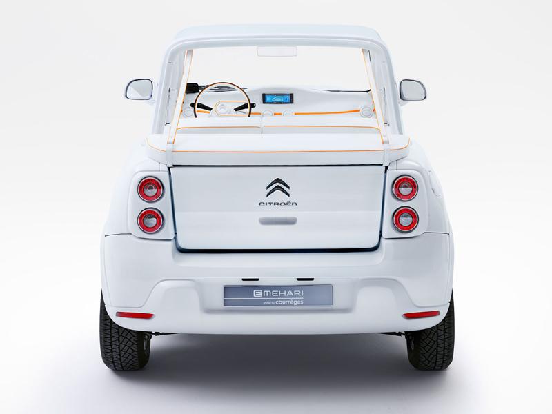 Citroën E-Mehari styled by Courreges: Plážový elegán (+video): - fotka 9
