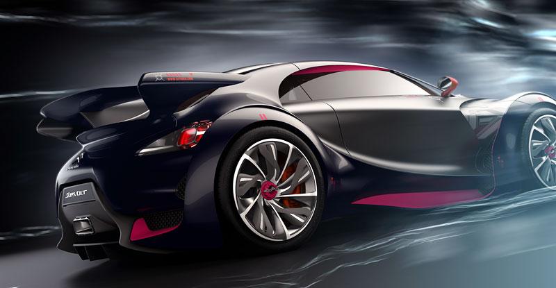 Ženeva 2010: Citroën Survolt – stylový i agresivní (nové foto): - fotka 24
