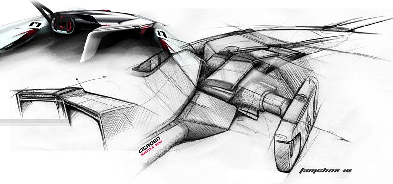 Ženeva 2010: Citroën Survolt – stylový i agresivní (nové foto): - fotka 39