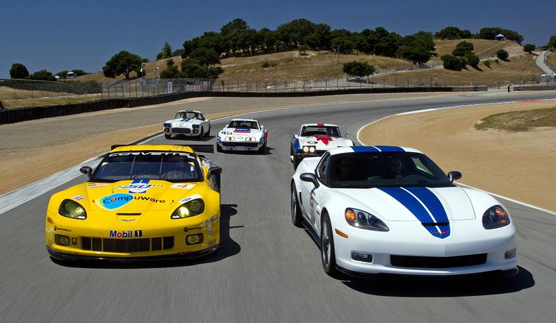 Corvette oslavuje 50 let od svého prvního startu v Le Mans: - fotka 1