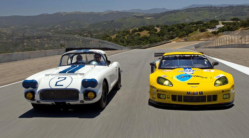 Corvette oslavuje 50 let od svého prvního startu v Le Mans: - fotka 2