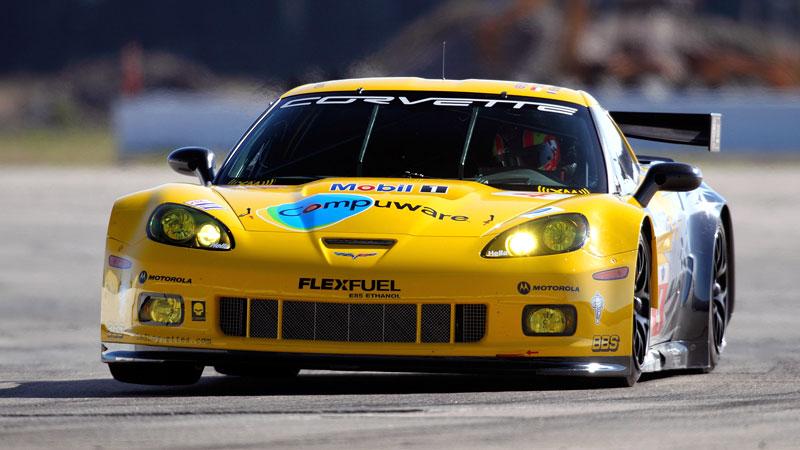 Corvette C6.R GT2: nový motor a další fotografie: - fotka 1
