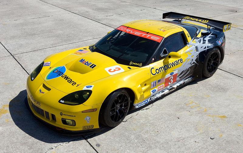 Corvette C6.R GT2: nový motor a další fotografie: - fotka 6
