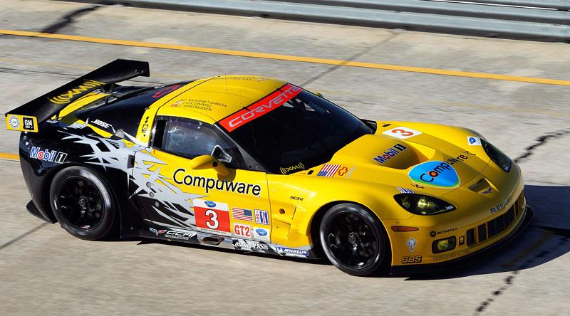 Corvette C6.R GT2: nový motor a další fotografie: - fotka 7