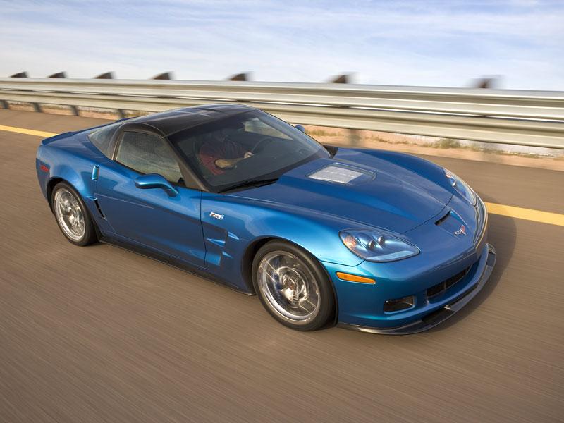 Pod lupou: Chevrolet Corvette ZR1 - Peklo je modré: - fotka 7
