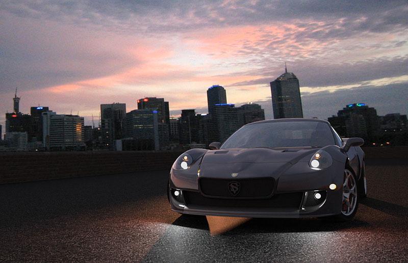 SV 9 Competizione: Corvette s italsky stylizovaným kabátem: - fotka 3