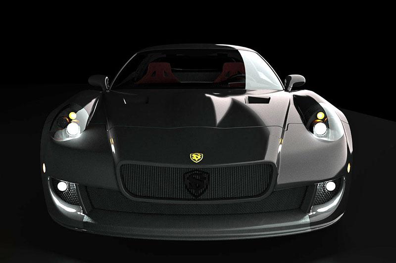 SV 9 Competizione: Corvette s italsky stylizovaným kabátem: - fotka 4