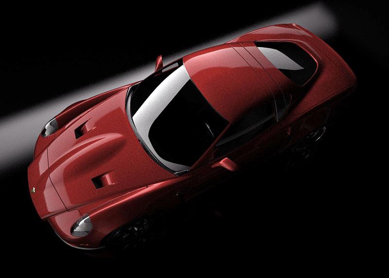 SV 9 Competizione: Corvette s italsky stylizovaným kabátem: - fotka 6