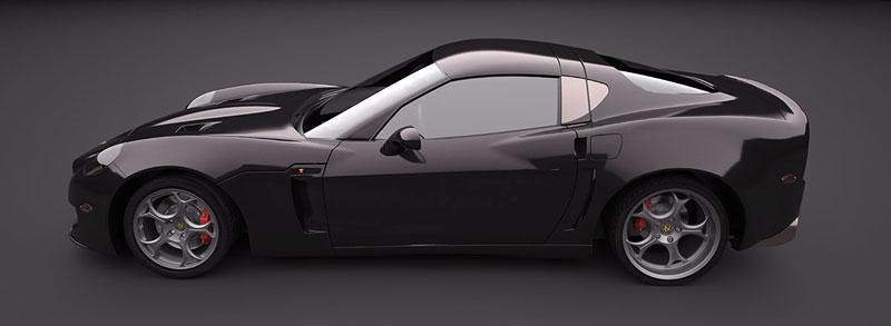 SV 9 Competizione: Corvette s italsky stylizovaným kabátem: - fotka 7