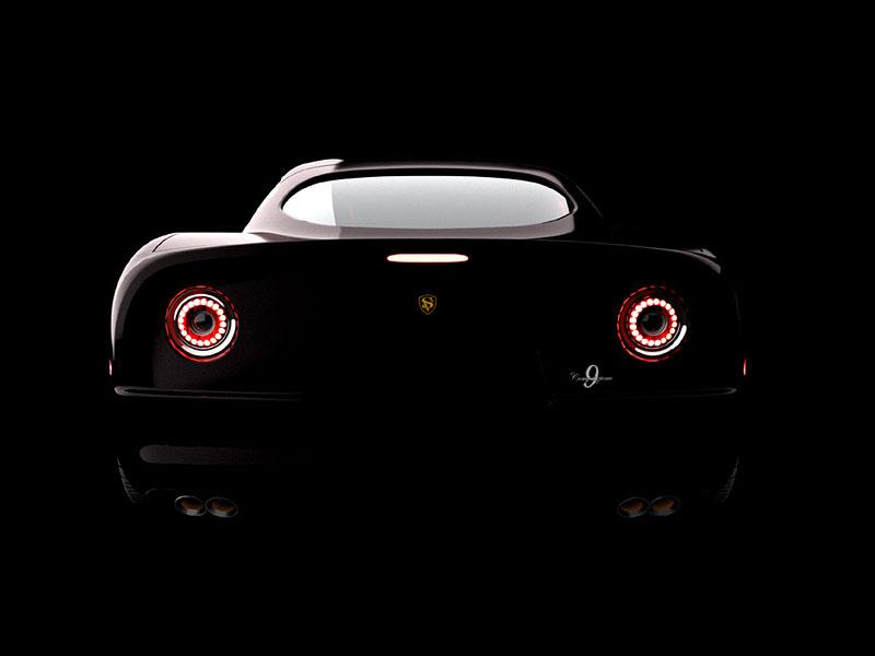 SV 9 Competizione: Corvette s italsky stylizovaným kabátem: - fotka 11