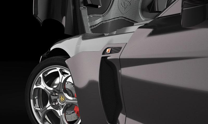 SV 9 Competizione: Corvette s italsky stylizovaným kabátem: - fotka 15