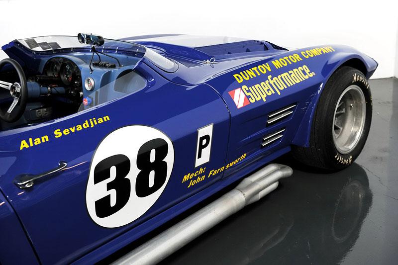 Superformance Corvette Grand Sport: replika prototypu z roku 1963: - fotka 25