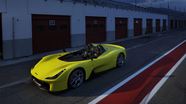 Dallara Stradale je okruhová placka, která smí na silnice. Poslechněte si, jak zní: - fotka 2