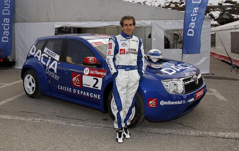 Alain Prost se zúčastní Race of Champions 2010: - fotka 24