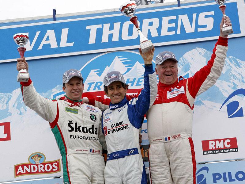 Alain Prost se zúčastní Race of Champions 2010: - fotka 39