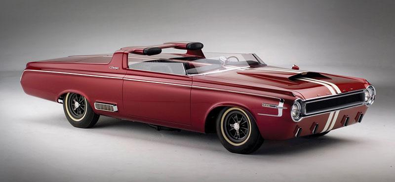 Dodge Hemi Charger Concept Car: První nositel slavného jména: - fotka 3