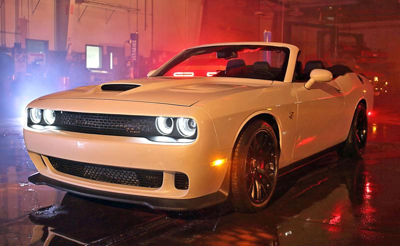 Dodge Challenger SRT Hellcat Convertible: Jediný svého druhu (+video): - fotka 12