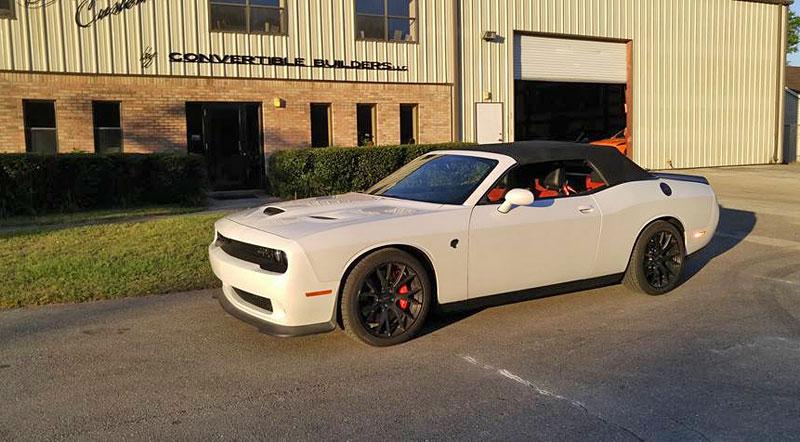 Dodge Challenger SRT Hellcat Convertible: Jediný svého druhu (+video): - fotka 13