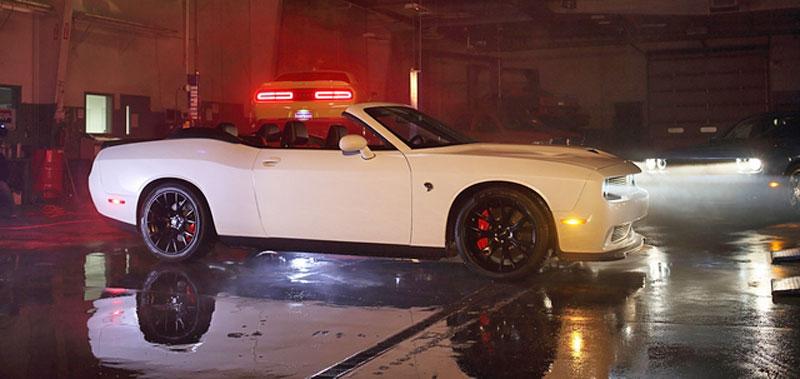 Dodge Challenger SRT Hellcat Convertible: Jediný svého druhu (+video): - fotka 14