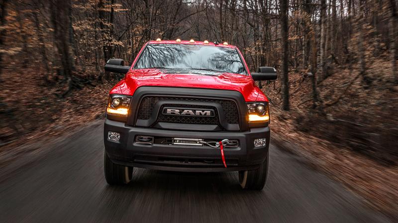 Ram Power Wagon zůstává věrný osmiválci: - fotka 16