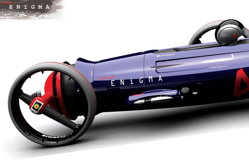 Concept Enigma: fantasmagorická tříkolka: - fotka 7