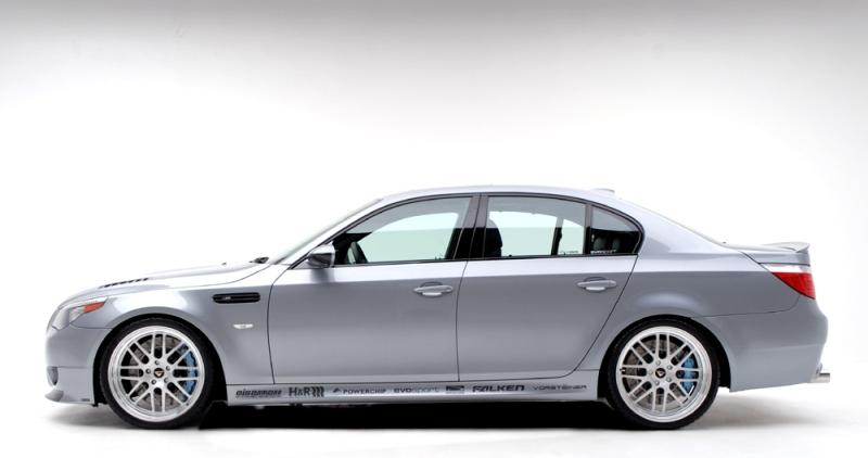BMW M5 Evosport – Mrazivá vášeň: - fotka 3