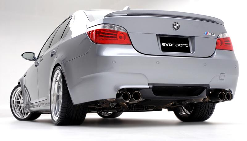 BMW M5 Evosport – Mrazivá vášeň: - fotka 5