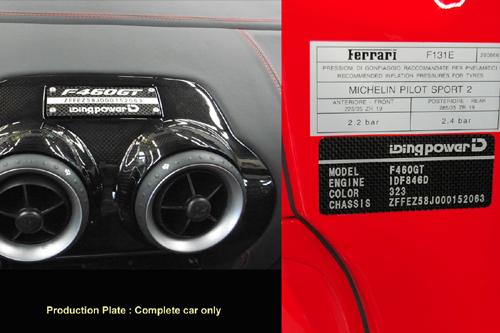 Iding Power Ferrari F460GT: větší objem a více síly: - fotka 1