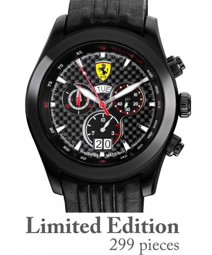 Ferrari Paddock Chronograph: hodinky z Maranella (skoro) za hubičku: - fotka 6