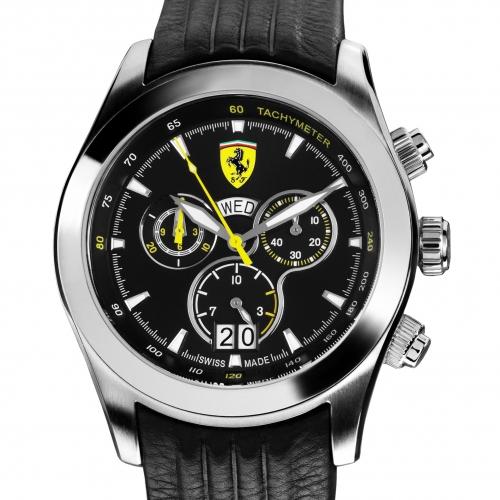 Ferrari Paddock Chronograph: hodinky z Maranella (skoro) za hubičku: - fotka 9