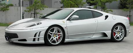 Iding Power Ferrari F460GT: větší objem a více síly: - fotka 3