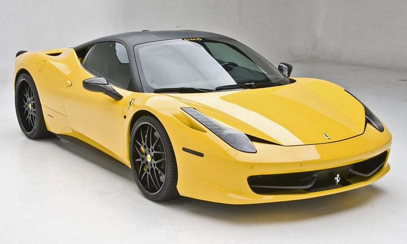 SEMA 2011: Ferrari 458 Italia Milano od DMC: - fotka 3